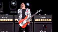 "Joe Satriani - ""Ice-9"" At Hellfest 2016 With Guitar Battle - YouTube"