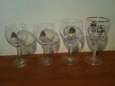 For Sale: Beer glasses: Four original glasses Leffe ...