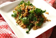 Freekeh Pilaf looks like a delicious side dish #kosher #wholegrain # ...
