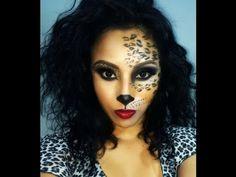 Sexy Cat/Leopard/Cheetah/ Makeup (Halloween) - YouTube