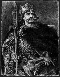 Boleslaw I The Brave, King of Poland ( 967 - 17 June My great grandfather. He was the son of Mieszko I of Poland and Doubravka of Bohemia. He was married to Emnilda of Lusatia and the father of Mieszko II Lambert, King of Poland. Poland History, Early Middle Ages, Roman Emperor, European History, Central Europe, Dark Ages, Historical Pictures, My Heritage, Medieval