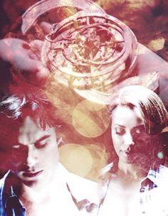 #TVD The Vampire Diaries season 6 Damon & Bonnie