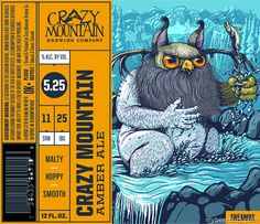 mybeerbuzz.com - Bringing Good Beers & Good People Together...: Crazy Mountain - Updates Amber Ale Packaging
