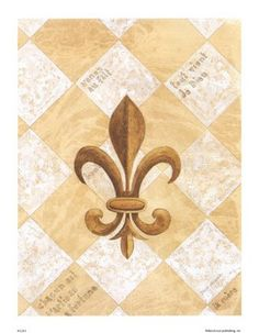 """FLEUR-DE-LIS ⚜ The English translation of """"fleur-de-lis"""" is """"flower of the lily."""" This symbol, depicting a stylized lily or lotus flower, has many meanings. Traditionally, it has been used to represent French royalty, and in that sense, it is said to signify perfection, light, and life."""