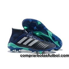 54c4804d5122b Botas De Futbol Adidas Predator 18.1 FG Negro Blanco Azul Oscuro Web