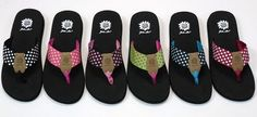Give me a pair of Yellow Box Flip Flops and I'm set. They are absolutely the most comfortable flip flops I've ever worn!