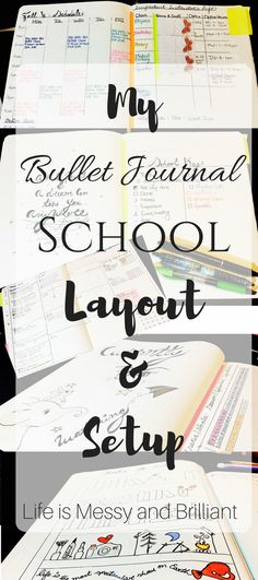 My bullet journal school layout & setup is going to inspire you to organize your bullet journal for the new semester. Each bullet journal college layout was created with the idea of maximizing the space in all the pages of my planner. Bullet Journal Uni, Bullet Journal Junkies, Bullet Journal Spread, Bullet Journal Layout, Bullet Journal Inspiration, Bullet Journals, Bullet Journal Ideas For Students, College Planner, School Planner