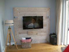 tv wand steigerhout - Google zoeken