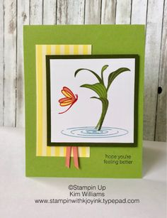 Peaceful Reflection Stamp Set, Stampin' Up!