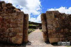 A Sacred Entrance to a Huaca #SacredEntrance #Huaca #StoneCusco #Saqsayhuaman #BestOfPeru #Cusco #Peru #MachuTravelPeru #CustomMadeTours #Travel #SharingPleasantMoments