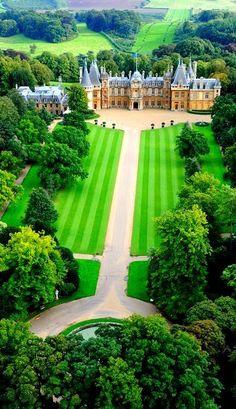 Waddesdon Manor, Waddeston, Buckinghamshire, England