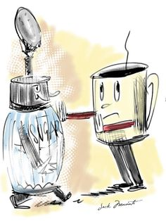 Sugar-free coffee