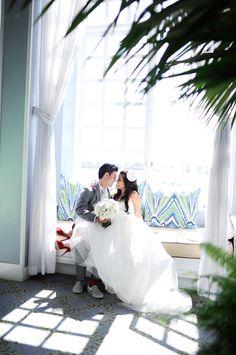 redondo beach portofino wedding photographer / tammy + rad
