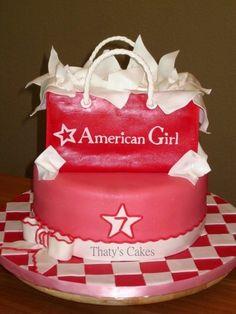 American girl birthday cake Carli's B-Day-possibilities?