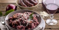 Recipe of the day:  Red Risotto and Sausage Meat - http://www.italianyummy.com/italianyummy/red-risotto-and-sausage-meat/