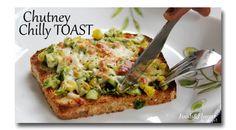 Chutney Cheese Toast Main