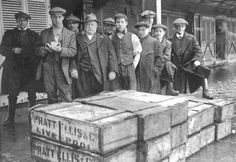 1925 At Fleetwood Fish Market, Blackpool England, a photograph was taken of some packers, and when it was developed, it showed the image of a Mr Haig – he had died one year before.
