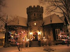McIntosh Castle, Kingston, Ontario.