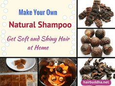 You can make this simple and easy homemade natural shampoo using just 3 ingredients. It cleans hair beautifully without stripping hair of its natural oils. Soap Nuts Shampoo, Diy Shampoo, Homemade Shampoo, Homemade Hair, How To Make Shampoo, Cheveux Oranges, Natural Hair Shampoo, How To Grow Natural Hair, Shiny Hair