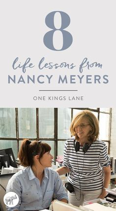 We asked director Nancy Meyers to share a few life lessons she's learned along the way, her secret to finding balance, and of course, the scoop on the interiors created for her latest film, The Intern, starring Robert De Niro and Anne Hathaway, in theaters September 25! #TheIntern