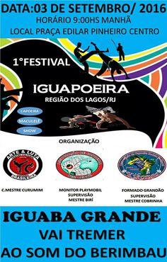 CIDADE: 1º Festival de Iguapoeira