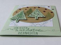 Weihnachtsbäumchen im Winterwald   http://eris-kreativwerkstatt.blogspot.de/2014/12/weihnachtsbaumchen-im-winterwald.html