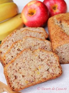 Raw Vegan, Banana Bread, Deserts, Food And Drink, Dessert Recipes, Sweets, Cookies, Gourmet, Banana