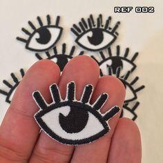 Aplique (patch) Bordado Termocolante Olho