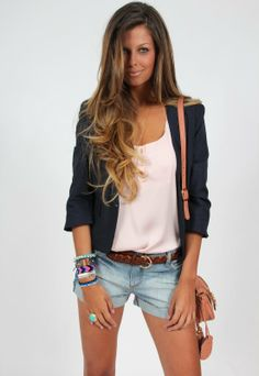 Jeans+shorts
