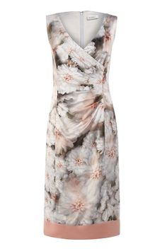 Grace Print Colour Block Dress, a feminine, flattering style, in our exclusive in-house print.
