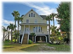 IOP, 2500, P - Nick:  Looks like a nice value.  House a little outdated, but yard is huge for the dogs.  Smaller pool can become a hottub for a little extra $$.  Pool table.  Golf cart available.