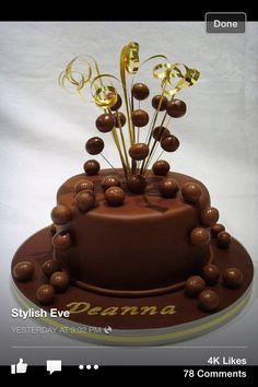 Lorraine Pascale Malteser Chocolate Cake