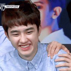 his smile, like icream