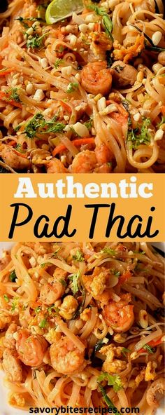 Try this best,spicy,simple and easy authentic pad thai recipe,with vegetables,shrimp,eggs and chicken,with easy authentic pad thai sauce.This recipe of homemade thai food is the best and better than any restaurant or takeout menu.The best pad thai noodles you can try at home. #savorybitesrecipes #padthairecipe #thaifood #padthainoodles #shrimp #chicken #ricenoodles #padthaisauce #dinnerrecipes #easyrecipes Easy Thai Recipes, Thai Chicken Recipes, Vegetable Recipes, Indian Food Recipes, Dinner Recipes, Spicy Chicken Pad Thai Recipe, Pad Thai Chicken, Recipes With Vegetables, Recipes With Shrimp