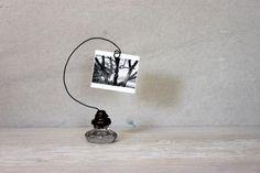 photo card holder // door knob card holder // by umbrellafant, $12.00