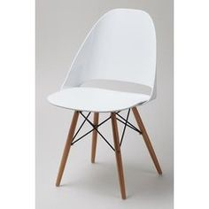 This set of 4 Plaza Chairs in White are a perfect match to any decor.