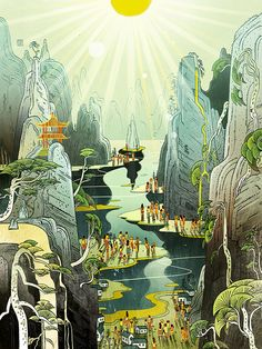 """""""Food & Travel (Collection)"""" by Victo Ngai."""