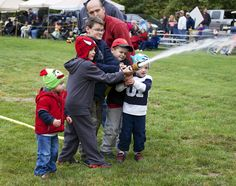 Everyone loves to get involved in Danforth Bay's Firefighter Weekend. The annual weekend hosts many fire departments and their families from around New England.