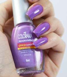 Colorama Aquarela Tropical - Violeta