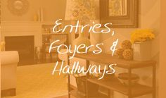 Entries, Foyers & Hallways #design #interiordesign #decor