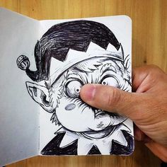Funny-Drawing-Character-Fighting-His-Maker11__700