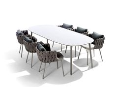 TOSCA | Dining table by TRIBÙ | design Monica Armani