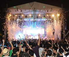 Siloso Beach Party 2013 - Celebrate this New Year's Eve at the largest beach countdown party in Asia!