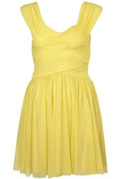 Topshop Yellow Coral Jade Purple Ruched Cami Dress BRAND NEW WITH TAGS,£45.00