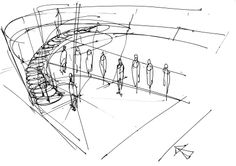A quick sketch from the initial design phase of our new Ekatinburg project; more details soon.