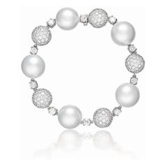 South Sea Pearl and Diamond Contessa Bracelet, by Verdura
