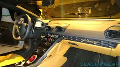 2015 Lamborghini Huracan interior