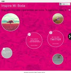 overview visualization: Inspira Mi Boda