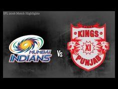 Full Highlights MI VS KXIP | IPL 2016 Match 43 | Punjab VS Mumbai 13/05/...