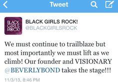 ::Inspirational Tuesday:: Black Girls Rock!